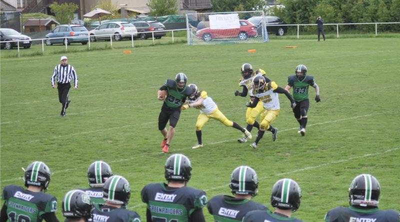 Green Raiders se poprvé představili na Strašnově proti Zlínu