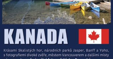 Společenský dům Lávka - cestopis Kanada
