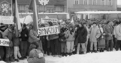 Mnichovo Hradiště Generální stávka_27.11.1989 kopie