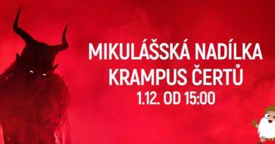 Krampus MB v obchodním centru Olympia