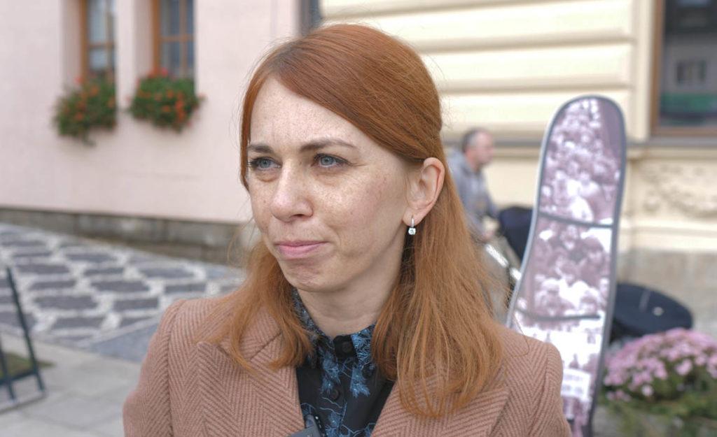Lucie Šolcová - kurátorka Muzea města Mnichovo Hradiště