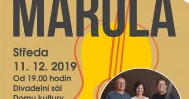 Folkový koncert kapely Marola v Mladé Boleslavi