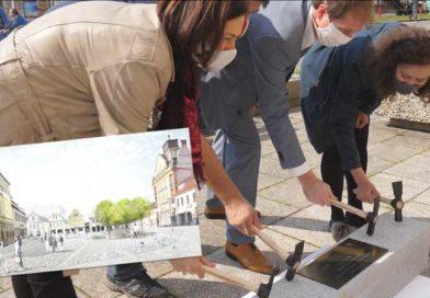 Mnichovo Hradiště zahájilo revitalizaci Masarykova náměstí