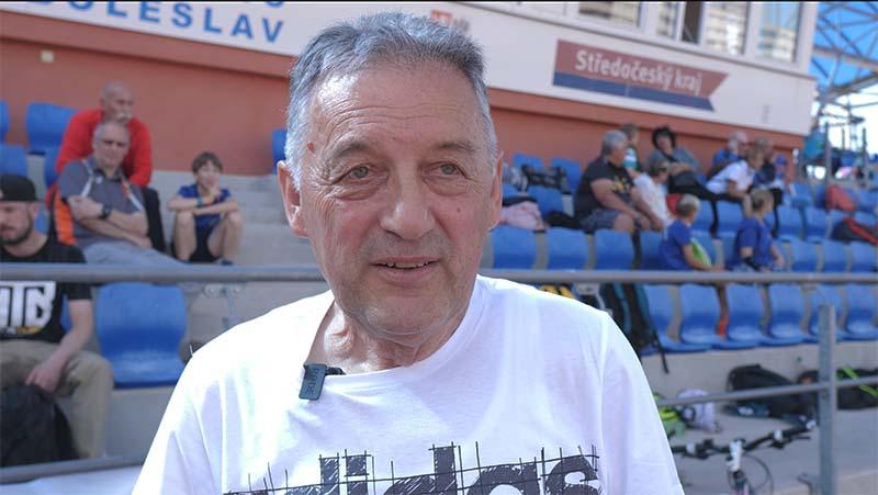 Vladimír Koudelka - předseda AC Mladá Boleslav