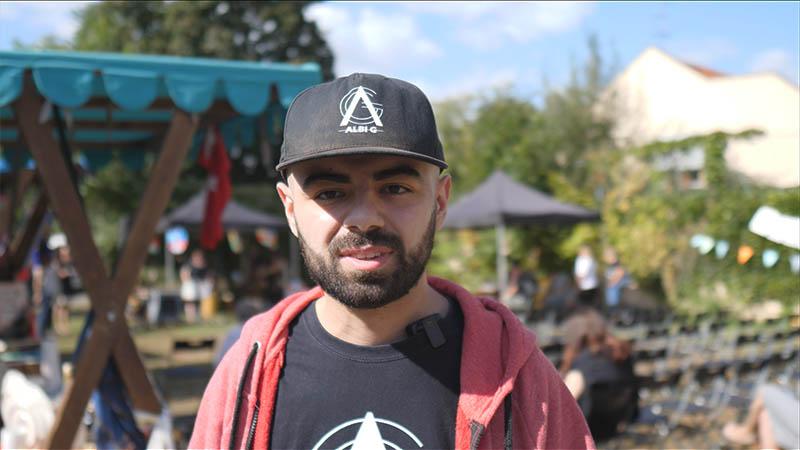 Albi G, raper a zástupce arménské menšiny