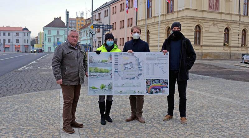 Mnichovo Hradiště dokončilo první etapu revitalizace Masarykova náměstí
